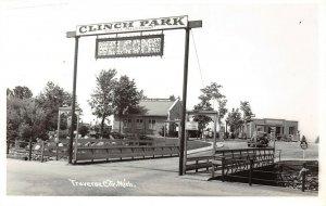 LPM30 Traverse City Clinch Park  Michigan RPPC Postcard