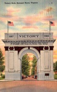 Virginia Newport News Victory Arch 1944