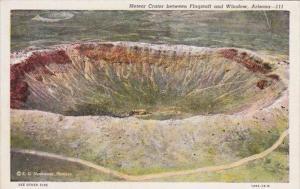 Arizona Meteor Crater Between Flagstaff and Winslow Curteich