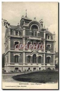Old Postcard Montdidier Bank Caisse d & # 39Epargne