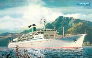 Grace Line, Santa Rosa, Steamship, F.A. Russo No. 10385-B