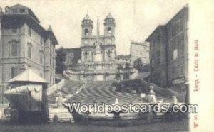Trinita Dei Monti Roma, Italy Unused