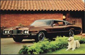 Classic Car Dealer Postcard 1970 FORD Thunderbird 2-Door Landau