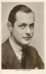 Actor Robert Montgomery photo