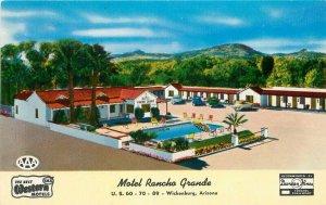 Arizona Colorpicture Rancho Grande Motor Hotel Swimming Pool Postcard 20-10251