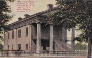 Court House now relic room, CAMDEN , South Carolina , 1900-10s