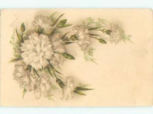 Very Old Foreign Postcard BEAUTIFUL FLOWERS SCENE AA4248