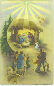Beautiful Nativity - Wise Men - Angels -