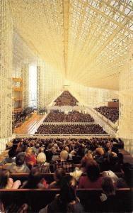 Garden Grove California~Robert Schuller Crystal Cathedral~Church Interior~1970s