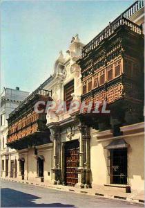 Postcard Modern C 1008 lima peru torre palacio tagle