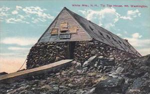New Hampshire Mount Washington Tip Top House