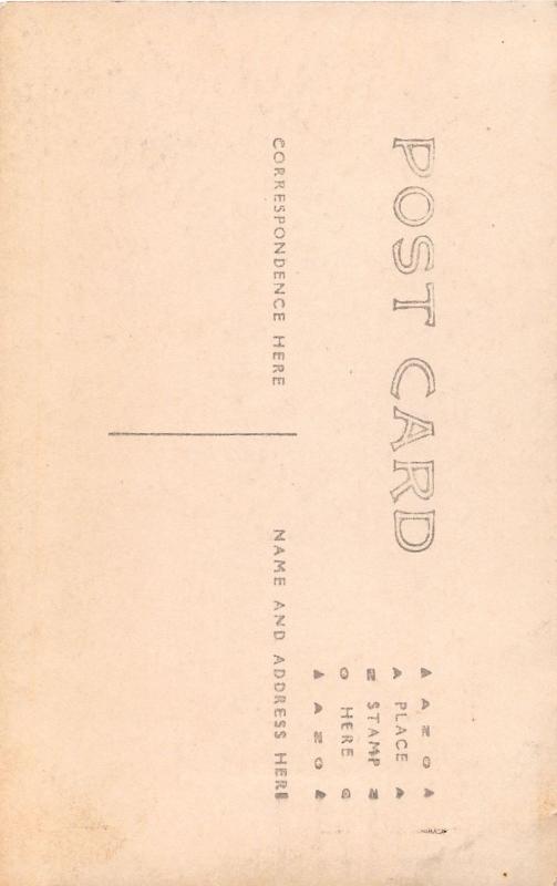 E84/ Carrollton Ohio RPPC Postcard c1910 U.P. Church Building 19