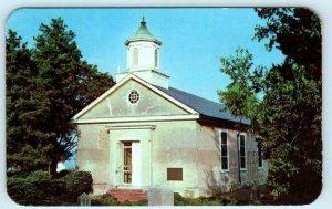 YORKTOWN, Virginia VA ~ GRACE EPISCOPAL CHURCH ca 1950s York County Postcard