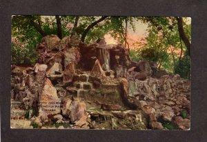 IL Rocks Lincoln Park Zoo ?? Chicago Illinois Postcard Vintage PC