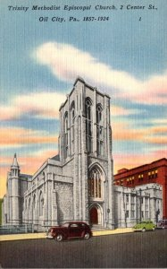 Pennsylvania Oil City Trinity Methodist Episcopal Church 1951