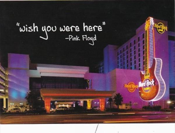 Mississippi Biloxi Hard Rock Hotel Wish You Were Here Pink