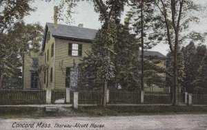 CONCORD, Massachusetts, 1901-1907; Thoreau-Alcott House
