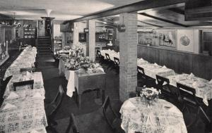 Interior of A Bit of Sweden Restaurant, Chicago, IL, Early Postcard, Unused