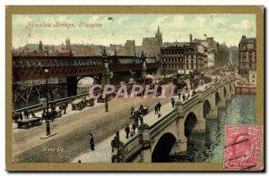 Postcard Old Bridge Jamaica Glasgow