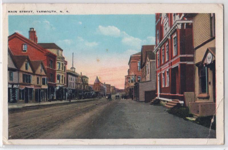 Main St, Yarmouth NS