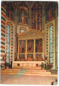 Italy, Basilica di S. Zeno, Verona, Il célèbre trittico del Mantegna, Postcard
