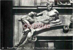 Postcard Modern Firenze Capelle Medicee It Crepuscolo (Michelangelo)