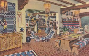 SANTE FE, New Mexico, 1930-40s; The Indian Room, La Fonda Hotel