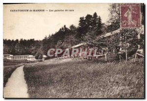 Postcard Old Sanatorium Mardor The mineshafts