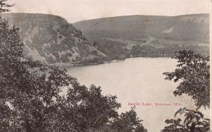 Devil's Lake, Baraboo, Wisconsin, Early Postcard, Unused