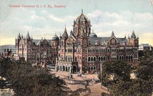 Bombay India Victoria Terminus GIP Ry Bombay Victoria Terminus GIP Ry