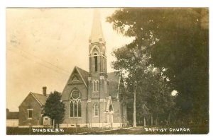 RP: DUNDEE , New York , 1907 ; Baptist Church