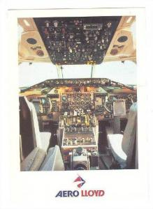 AERO Lloyd airplane , Cockpit, MD 83 , 70-90s