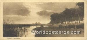 Cairo Eqypt Landscape Size 2 3/4 in x 5 3/4 in Landscape