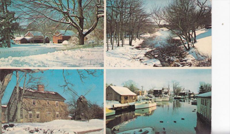 Multi-View, Winter Scenes, Jackrabbit Service, EAST NORWICH, New York, 40-60's