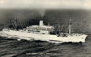 ss Chitral Orient Lines Ship REAL PHOTO 01.86