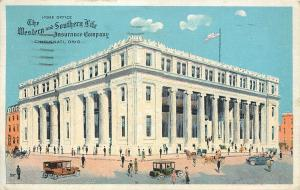 Cincinnati Ohio~The Western And Southern Life Insurance Company~1922 Postcard