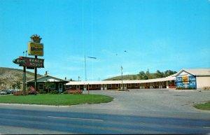 North Dakota Jamestown Ranch House Motel