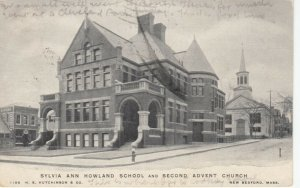 NEW BEDFORD, Massachusetts, 1901-07 Sylvia Ann Howard School