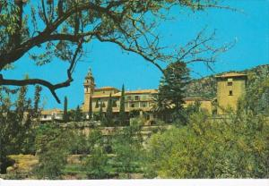 Spain Mallorca Valldemosa Carthusian Order From The Olivaret