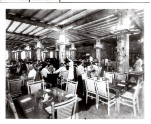 Haynes, 52097, Lake Lodge Dining Room, Yellowstone National Park