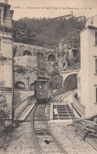 LYON , France,1900-10s ; Funiculaire de Saint-Just et de Fourvieres