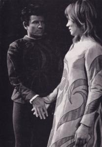 Ian Holm Estelle Kohler Romeo & Juliet Rare Shakespeare Theatre Postcard