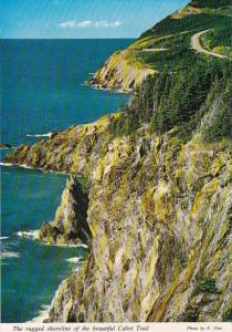 Canada Nova Scotia The Rugged Shoreline Of The beautiful Cabot Trail Cape Breton