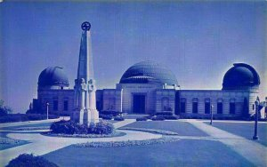 Griffith Observatory Western Slope of Mount Hollywood Griffith Park LA Postcard
