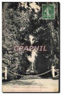 Postcard Old Haras du Pin Orne Avenue Hippodrome