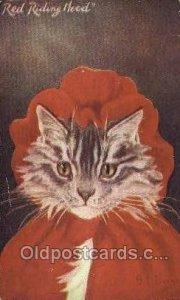 Artist G.L. Barnes, Cat, 1907 light wear postal used 1907