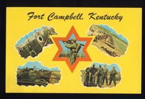 Hopkinsville, Kentucky/KY Postcard, Fort Campbell, Clarksville, Tennessee/TN