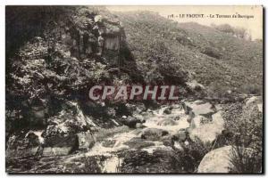 Old Postcard Le Faouet Le Torrent Barrigan