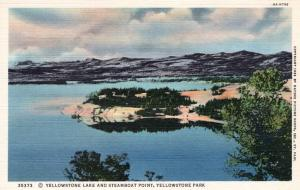 YELLOWSTONE NATIONAL PARK.  Haynes Linen Series. 35373.