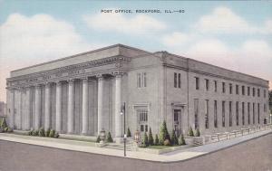 Post Office , Rockford, Illinois, 30-40s